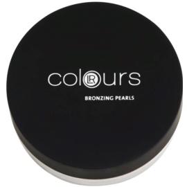 LR Colours bronzeador para rosto com pérolas coloridas  18 g