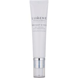 Lumene Valo [Light] crema iluminadora para contorno de ojos con vitamina C  15 ml