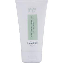 Lumene Nordic Girl! Scrub Me Up! gel limpiador exfoliante para pieles con imperfecciones  150 ml