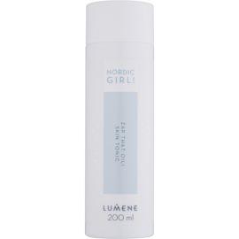 Lumene Nordic Girl! Zap That Oil! tónico limpiador para pieles jóvenes  200 ml