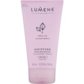 Lumene Cleansing Hellä [Comfort] krem nawilżająco-oczyszczający do skóry suchej  150 ml