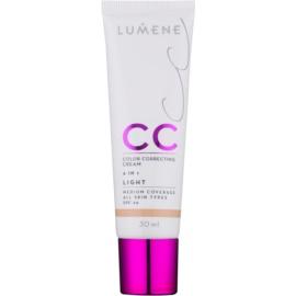 Lumene Nordic Chic CC Licht Matterende Foundation  6in1 Tint  Light SPF 20 30 ml