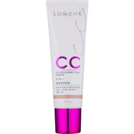 Lumene Nordic Chic CC ľahký zmatňujúci make-up 6 v 1 odtieň Medium SPF 20 30 ml