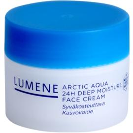 Lumene Arctic Aqua tiefenwirksame feuchtigkeitsspendende Creme für normale und trockene Haut  50 ml