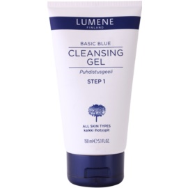 Lumene Basic Blue čistilni gel za obraz  150 kos