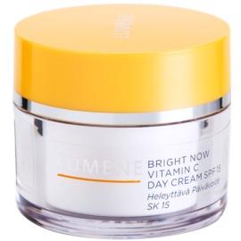 Lumene Bright Now Vitamin C crema de zi hidratanta SPF 15  50 ml