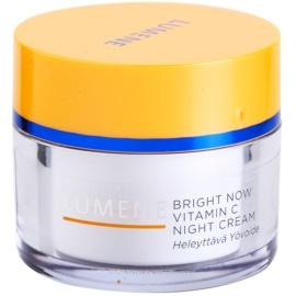 Lumene Bright Now Vitamin C Nachtcreme für alle Hauttypen  50 ml