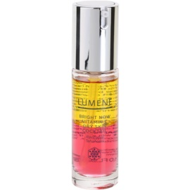 Lumene Bright Now Vitamin C+ coctail iluminador para pele seca  30 ml