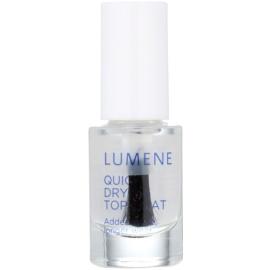 Lumene Gloss & Care rychleschnoucí vrchní lak na nehty  5 ml