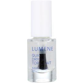 Lumene Gloss & Care Snel Drogende Top Coat  voor Nagels  5 ml