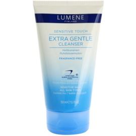 Lumene Sensitive Touch sanfte Reinigungsemulsion für alle Hauttypen, selbst für empfindliche Haut  150 ml