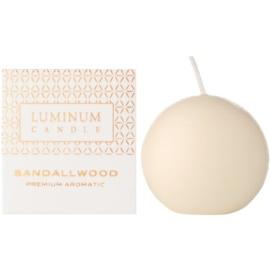 Luminum Candle Premium Aromatic Sandalwood vonná sviečka    (Ø 60 mm, 15 h)