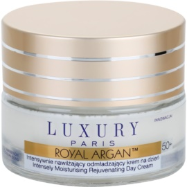 Luxury Paris Royal Argan creme de dia antirrugas, hidrantante e reafirmante 50+  50 ml