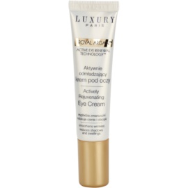 Luxury Paris Royal Argan krema proti gubam za predel okoli oči s hladilnim učinkom (Actively Rejuvenating Eye Cream, 0% Parabens) 15 ml