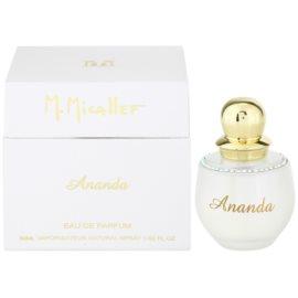 M. Micallef Ananda Eau de Parfum für Damen 30 ml