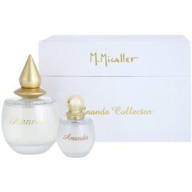 M. Micallef Ananda Geschenkset  Eau de Parfum 100 ml + Eau de Parfum 30 ml