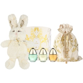 M. Micallef Baby's Collection Geschenkset I.  Eau de Parfum 3 x 30 ml + Plüschspielzeug