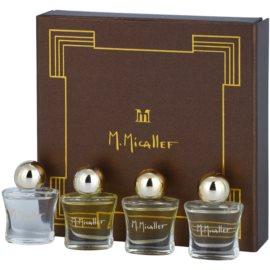 M. Micallef Mini darčeková sada I. Akowa + Emir + Pure + Ananda Dolce parfémovaná voda 4 x 5 ml