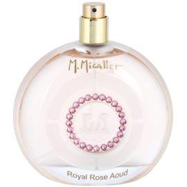 M. Micallef Royal Rose Aoud parfémovaná voda tester pro ženy 100 ml