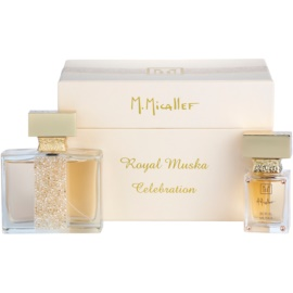 M. Micallef Royal Muska Gift Set I. Eau De Parfum 100 ml + Eau De Parfum 30 ml