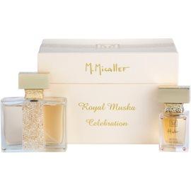 M. Micallef Royal Muska dárková sada I. parfémovaná voda 100 ml + parfémovaná voda 30 ml