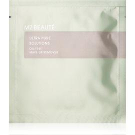 M2 Beauté Facial Care odličovač make-upu bez obsahu oleje  7 x 2 ml