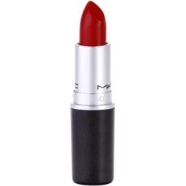 MAC Cremesheen Lipstick rúž odtieň Brave Red 3 g