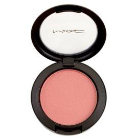 MAC Sheertone Shimmer Blush arcpirosító árnyalat Peachykeen  6 g