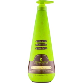 Macadamia Natural Oil Care sampon hidratant fara greutate pentru volum fără silicon și sulfat  1000 ml