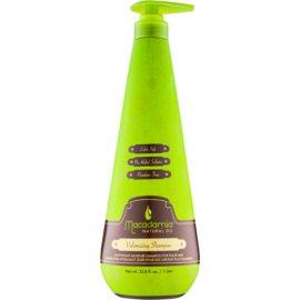 Macadamia Natural Oil Care leichtes feuchtigkeitsspendendes Shampoo für mehr Volumen ohne Silikone und Sulfate  1000 ml