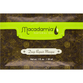 Macadamia Natural Oil Care mascarilla para cabello seco y dañado  30 ml