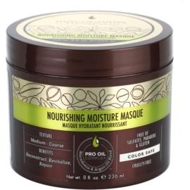 Macadamia Natural Oil Pro Oil Complex mascarilla nutritiva para cabello con efecto humectante  236 ml