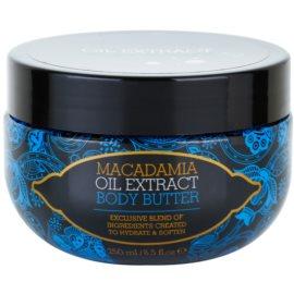 Macadamia Oil Extract Exclusive tápláló vaj a testre minden bőrtípusra  250 ml