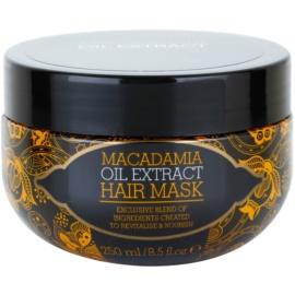 Macadamia Oil Extract Exclusive vyživující maska na vlasy pro všechny typy vlasů  250 ml