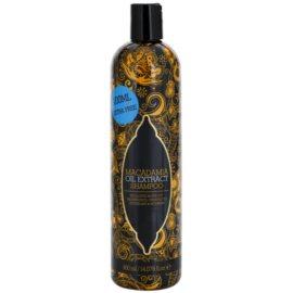 Macadamia Oil Extract Exclusive vyživující šampon pro všechny typy vlasů  400 ml