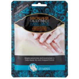 Macadamia Oil Extract Pack hydratační rukavice