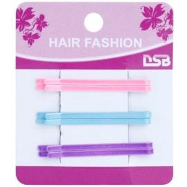 Magnum Hair Fashion klasické barevné pinety do vlasů Pink, Blue, Violet 6 ks