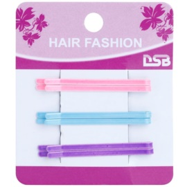 Magnum Hair Fashion agrafe de par clips Pink, Blue, Violet 6 buc