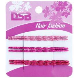 Magnum Hair Fashion klasické barevné pinety do vlasů se třpytkami Pink, Violet, Red 6 ks