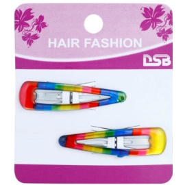 Magnum Hair Fashion bunte Haarpangen Rainbow 2 St.