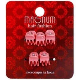 Magnum Hair Fashion зажими для волосся Pink 5 кс