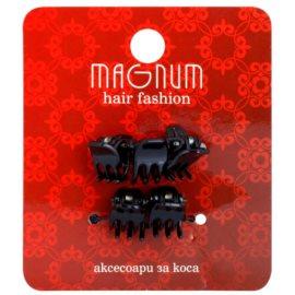 Magnum Hair Fashion зажими для волосся Black 5 кс