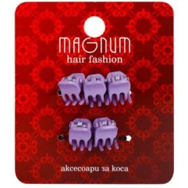 Magnum Hair Fashion зажими для волосся Lila 5 кс