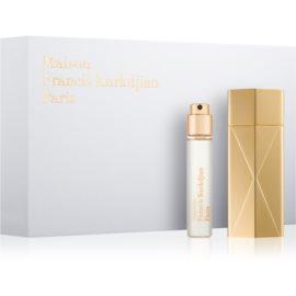 Maison Francis Kurkdjian Baccarat Rouge 540 dárková sada  parfémovaná voda 5 x 11 ml + pouzdro 1