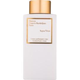 Maison Francis Kurkdjian Aqua Vitae testkrém unisex 250 ml