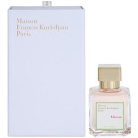 Maison Francis Kurkdjian A la Rose Eau de Parfum para mulheres 70 ml