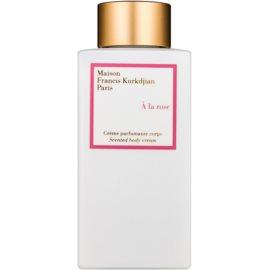 Maison Francis Kurkdjian A la Rose Körpercreme für Damen 250 ml