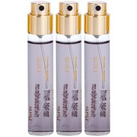 Maison Francis Kurkdjian Oud Velvet Mood extrato de perfume unissexo 3 x 11 ml recarga