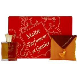 Maitre Parfumeur et Gantier Ambre Doré dárková sada  toaletní voda 50 ml + parfémovaný polštářek