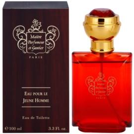 Maitre Parfumeur et Gantier Eau Pour le Jeune Homme eau de toilette férfiaknak 100 ml